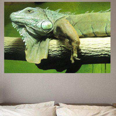 Nature Chameleon Printed Environmental Removable Wall Sticker