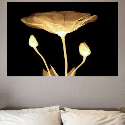 Lotus Print Environmental Removable Wall Sticker