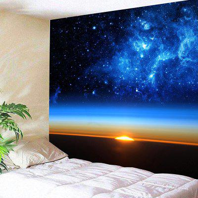 Starry Sky Print Wall Hanging Bedroom Tapestry