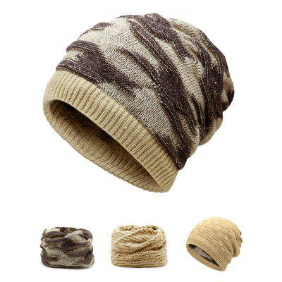 Multifunctional Empty Top Reversible Knitted Beanie