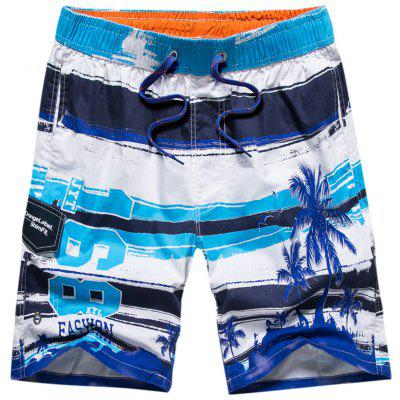 Tropical Print Water Sports Board Short
