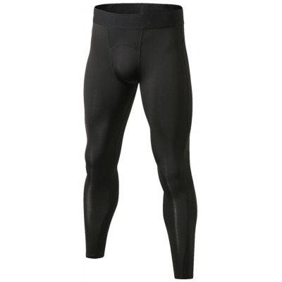 Panel Design Stretchy Quick Dry Gym Pants