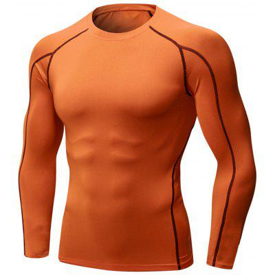 Suture Quick Dry Stretchy Long Sleeve T-shirt