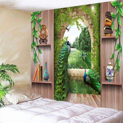 Peacock 3d Print Wall Art Tapestry 6 88 Free Shipping Gearbest Com