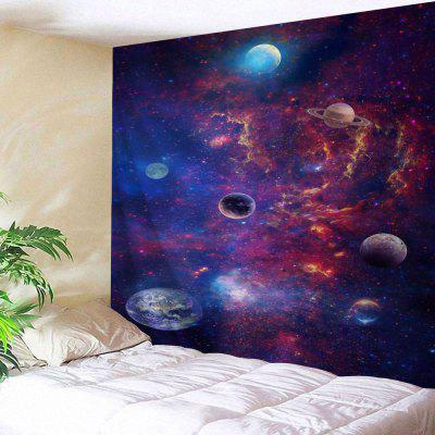 Wall Hanging Decoration Galaxy Planets Print Tapestry