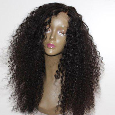 Long Side Parting Shaggy Afro Curly Synthetic Wig
