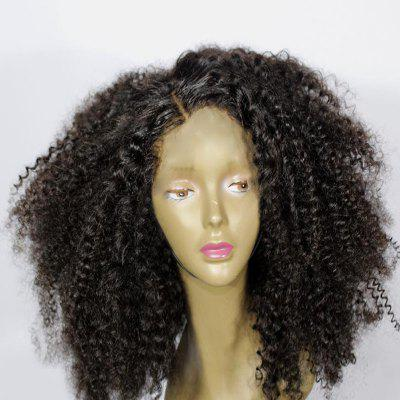 Medium Side Parting Bouffant Curly Synthetic Wig