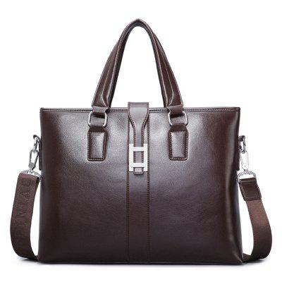 Multifuncional PU Leather Briefcase