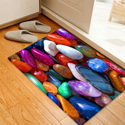 Colorful Stone Pattern Indoor Outdoor Area Rug