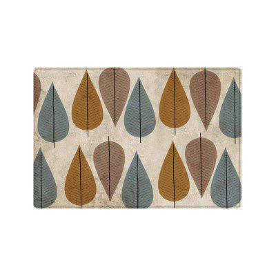 Leaf Pattern Indoor Outdoor Area Rug