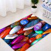 Colorful Stone Pattern Indoor Outdoor Area Rug - COLORMIX