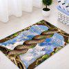 Sky In Tree Root Pattern Water Absorption Area Rug - COLORMIX