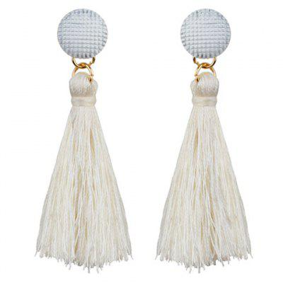 Simple Tassel Drop Earrings