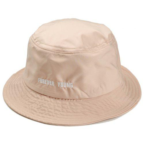 3ab52770fc5 Unique Forever Young Embroidery Bucket Hat -  6.47 Free Shipping ...