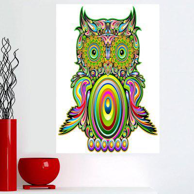 Owl Pattern Wall Art Canvas Painting