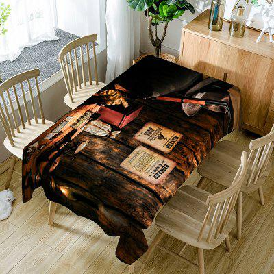 West Cowboy Printed Table Cloth