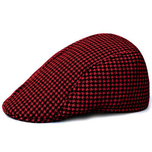 d1d6e88abf2 Unique Houndstooth Pattern Newsboy Hat