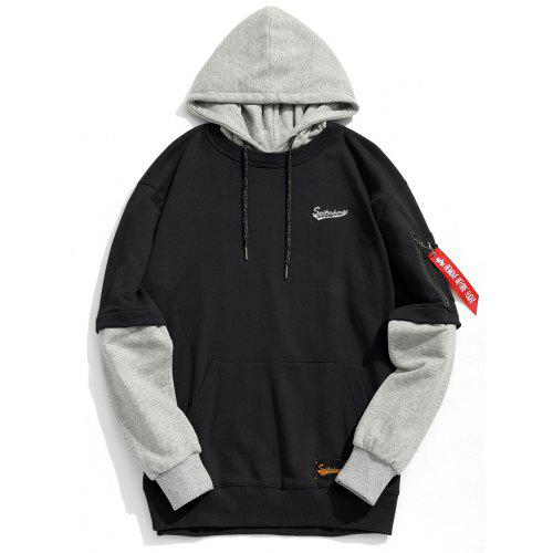 Mens Pouch Pocket Hoodie