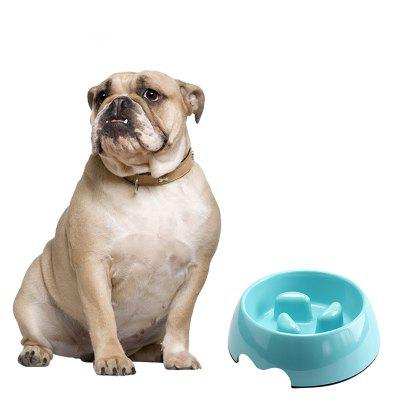 Anti Choke Melamine Plastic Dog Food Water Bowl