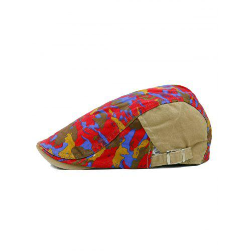 07983ca9cdf Unique Colored Camo Pattern Embellished Newsboy Hat -  5.85 Free  Shipping