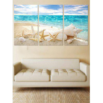 Unframed Beach Starfish Print Canvas Paintings
