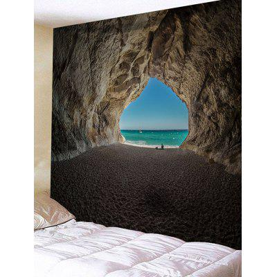 Cave Hole Printed Wall Hanging Tapestry