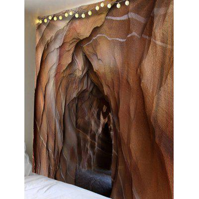 Lava Cave Printed Waterproof Wall Tapestry