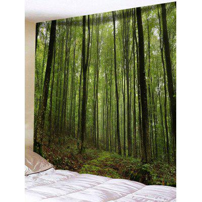 Wall Hanging Art Forest Trees Print Tapestry
