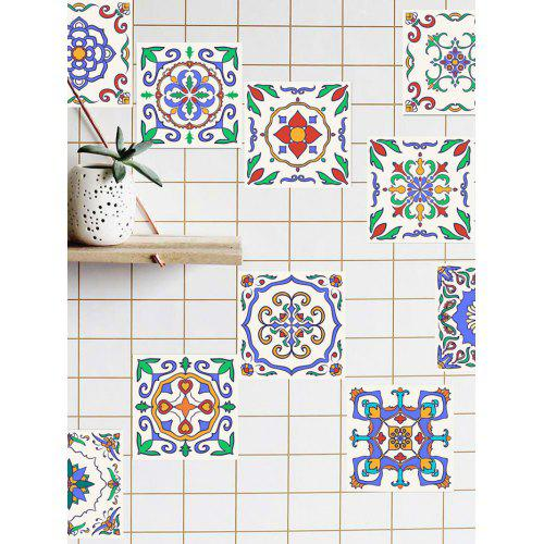 Tile Stickers Blue 4 4 Inch Wall Stickers Sale Price Reviews