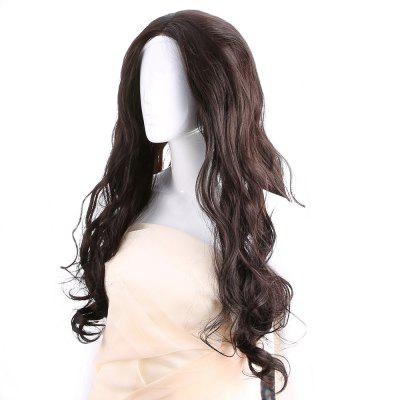 Long Free Part Wavy Lace Front Synthetic Wig