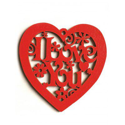 Heart Shaped Hollow Wedding Gift Decorations