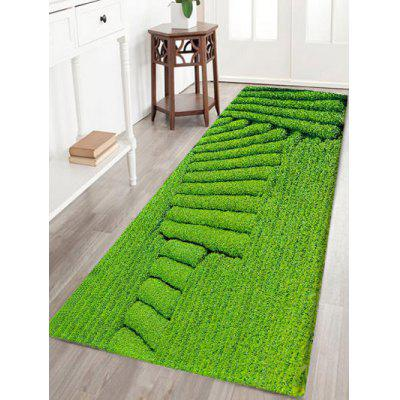Tea Garden Pattern Indoor Outdoor Area Rug