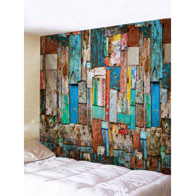 Wall Hanging Decoration Scrawl Wood Board Print Tapestry