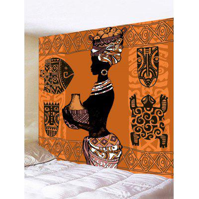 Wall Hanging Decoration African Culture Print Tapestry