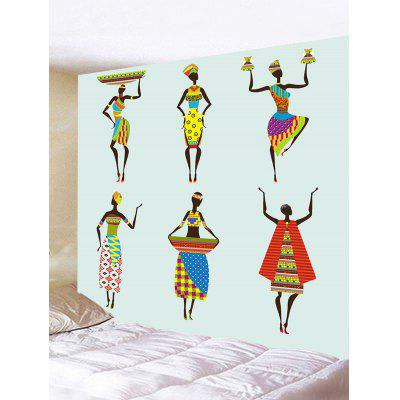 Wall Hanging Decoration African Women Print Tapestry
