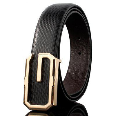 ZHAXIN Metal Decorated Automatic Buckle Wide Belt