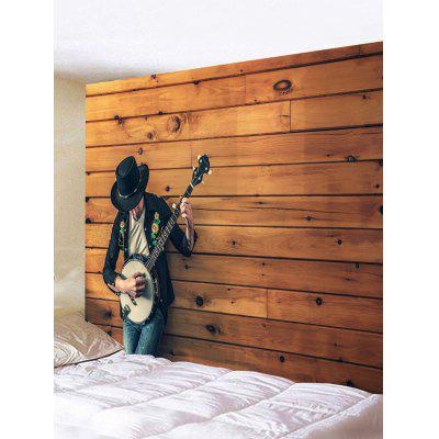 Guitar Boy Print Tapestry