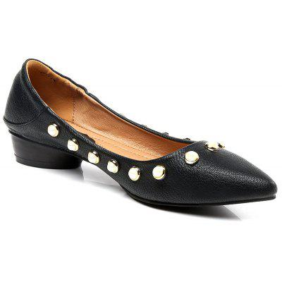 LANBAOLI Flat Shoes,Flat Heels,Pointed Toe Shoes,Studded Pearl Shoes Austin Buying things