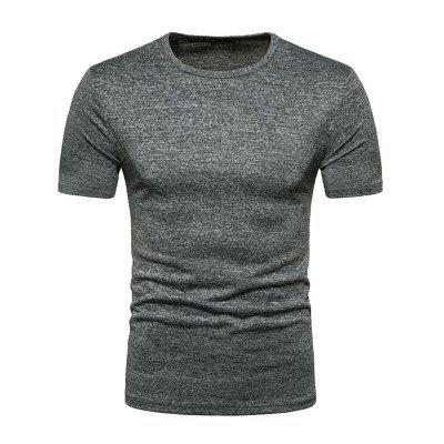 Crew Neck Breathable T-shirt