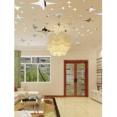 39 Pcs Stars Pattern Wall Stickers