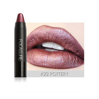 Professional Waterproof Long Lasting Metallic Matte Lipstick