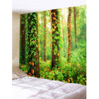 Wall Hanging Decor Forest Vines Print Tapestry