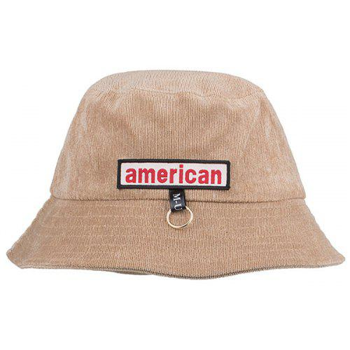 434ac60af0d Metal Ring AMERICA Embellished Bucket Hat -  4.32 Free Shipping ...