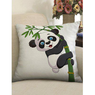 Cute Panda Print Decorative Sofa Pillowcase