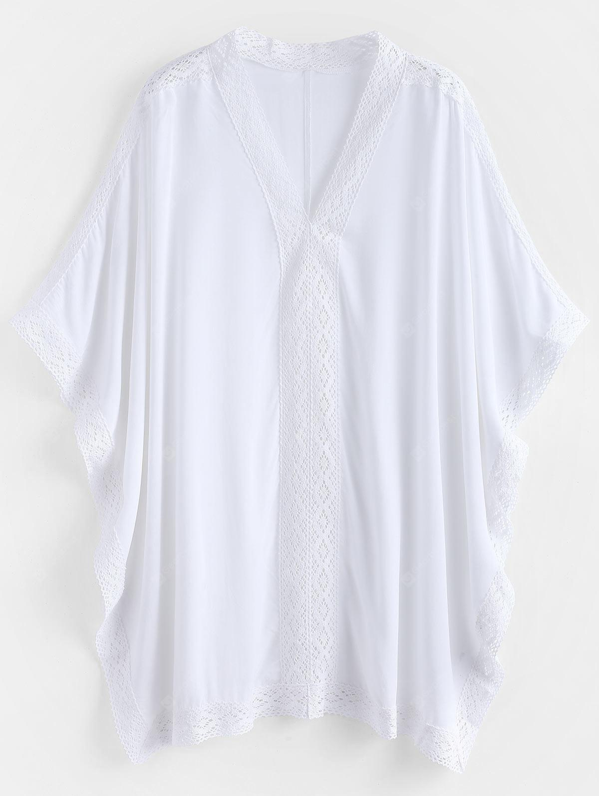 Panel de ganchillo Kaftan Beach Top