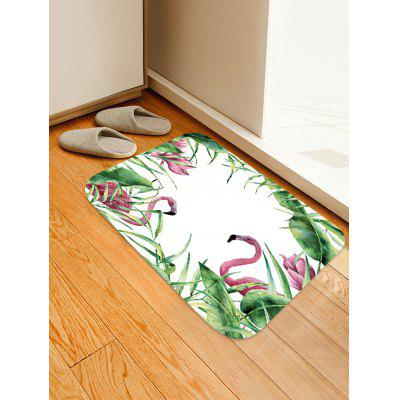 Flamingos Pattern Antiskid Floor Mat
