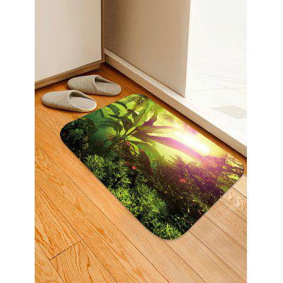 Sunlight Forest Pattern Antiskid Area Rug