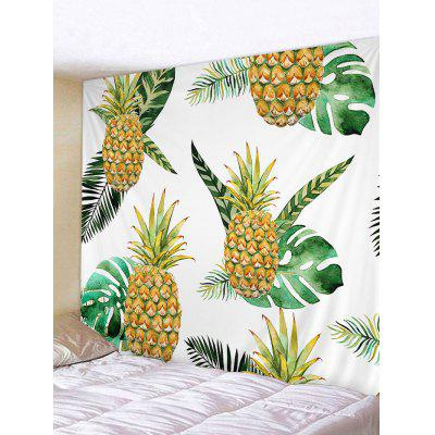 Pineapples Pattern Wall Art Tapestry
