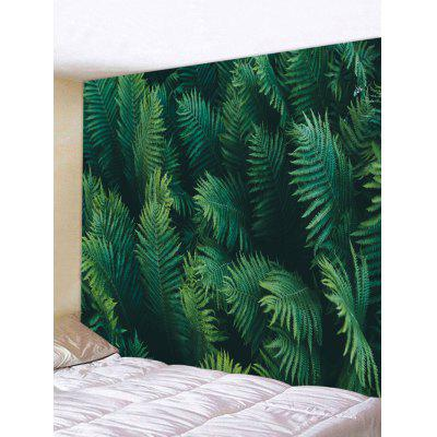 Palm Leaves Print Tapestry Wall Hanging Art