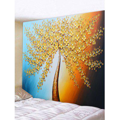 Tree Painting Print Tapestry Wall Hanging Art